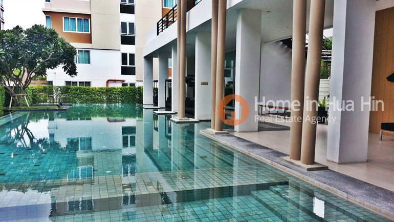 RCH43 Baan Koo Kiang Hua Hin Studio Condo for Rent
