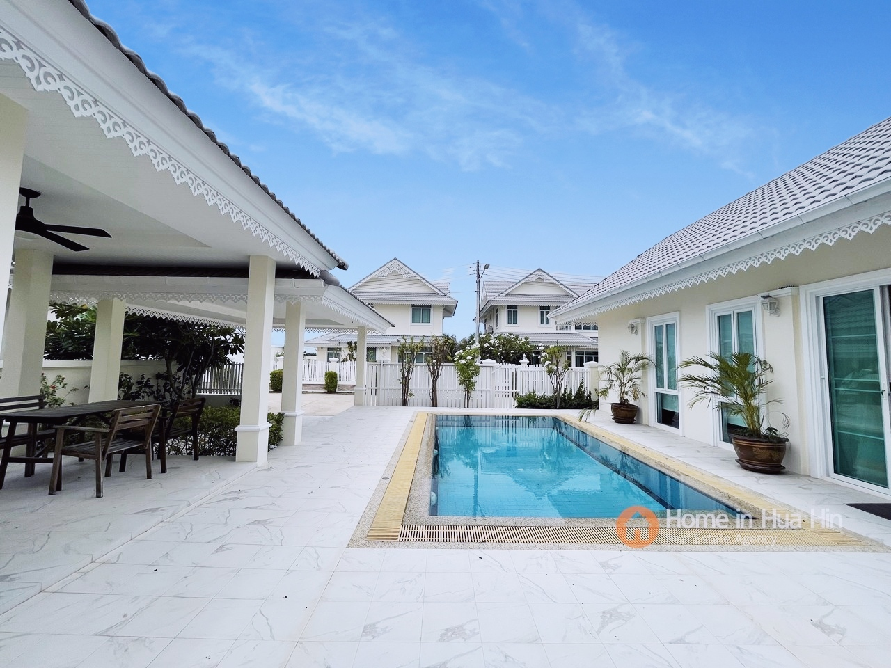 3 Bedroom Pool Villa, Nice Breeze by the Sea Cha Am for Sale
